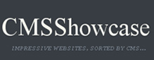 CMS Showcase- Impressive websites sorted by CMS
